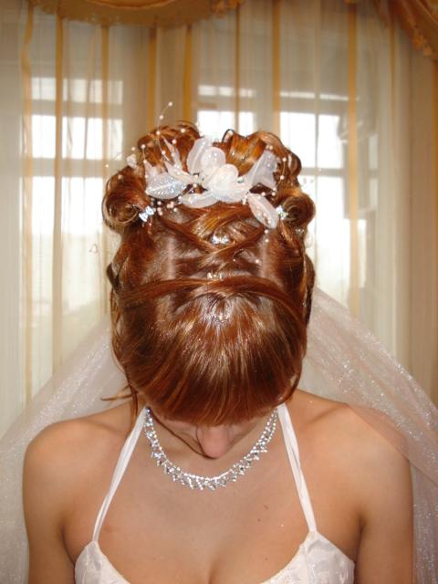 свадебные прически укладки своими руками фото