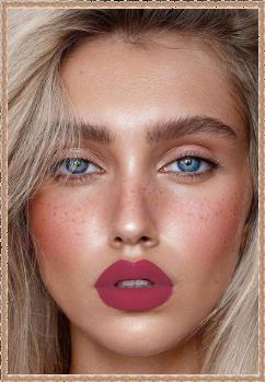 ягодные губы